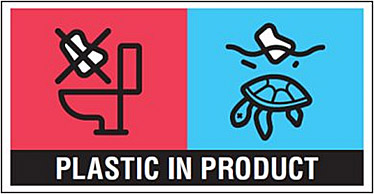 Logo Plastic in Product